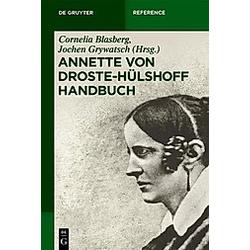 Annette von Droste-Hülshoff Handbuch - Buch
