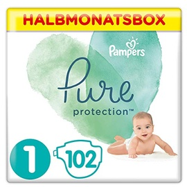 Pampers Pure Protection 2-5 kg 102 Stück