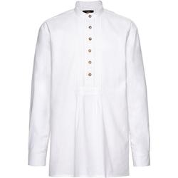 Luis Steindl Trachtenhemd Schlupfhemd mit Biesen XL