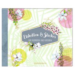 Stickerbuch - Etiketten & Sticker