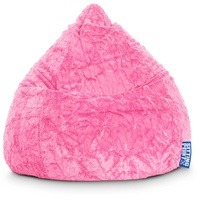 Sitting Point BeanBag Fluffy L pink
