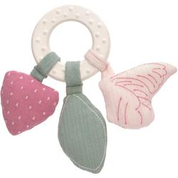 Lässig Beißring Garden Explorer, Butterfly, mit Greiffunktion; PETA-approved vegan bunt Kinder Beißringe Baby Kleinkind