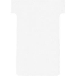 Nobo T-Steckkarten Gr. 2 Weiß 6 x 8,5 cm 100 Stück