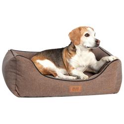 alsa-brand Hundekorb Koje braun, Außenmaße: ca. 90 x 70 cm