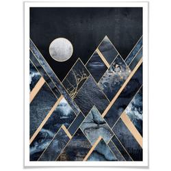 Wall-Art Poster Nachthimmel, Himmel (1 Stück) bunt 30 cm x 40 cm x 0,1 cm