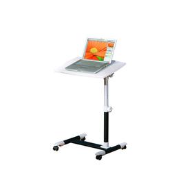 ebuy24 Schreibtisch Aloma Schreibtisch Laptop Tisch weiss, schwarz.