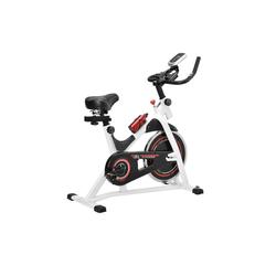 in.tec Sitz-Heimtrainer, Fittnes Fahrrad Trimmrad mit LCD-Display