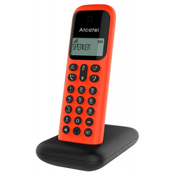 Alcatel D285 - schnurlos Telefon - rot Schnurloses Mobilteil