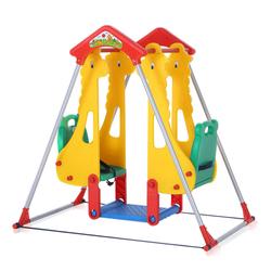 Baby Vivo Spielplatzschaukel / Doppelschaukel für Indoor Outdoor - Zoo