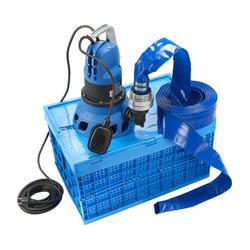 Hochwasserschutzbox D-Flooding Kit inkl. Pumpe und 15 m Schlauch