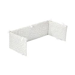 Alvi® Bettnestchen Nestchen für Beistellbett Hearts white