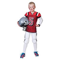 Kostüm Footballspieler rot/weiß Gr. 152 Jungen Kinder