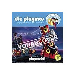 Die Playmos - 20 - Die große Schlacht der Löwenritter - Hörbuch