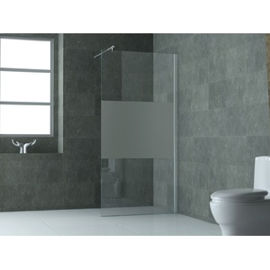 FREE Glas Duschwand Walkin Duschtrennwand Duschabtrennung Dusche Duschkabine