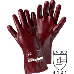 L+D PVC 1481 PVC Arbeitshandschuh Größe (Handschuhe): 10, XL EN 388 CAT II 1 Paar
