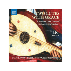 Grace Newcombe, Paul Kieffer, Marc Lewon - Two Lutes With (CD)
