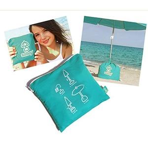 Solboy Strandschirmständer - Sonnenschirm Ständer Schirmständer für den Strandschirm, Sonnenschirmhalter (Sonderedition 2019) - Bodenhülse - Ideal für Flugreisen