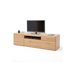 Lomadox Lowboard FERROL-05, TV- Wohnwand Fernseh Schrank in Grandson Oak Nb. - B/H/T: 205/55/52cm