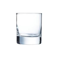 Arcoroc Whiskyglas Islande, Whiskyglas 200ml Glas transparent 6 Stück Ø 7 cm x 8.3 cm