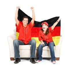 Deutschlandfahne ca. 150 x 90 cm
