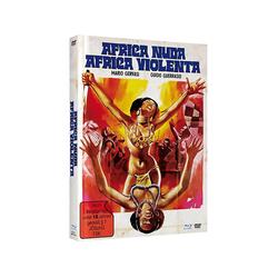 AFRICA NUDA,AFRICA VIOLENTA-COVER A [Blu-ray & Blu-ray