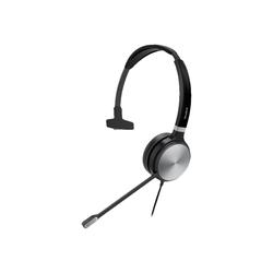 Yealink UH36 Mono - Headset - On-Ear - kabelgebunden - USB, 3,5 mm Stecker - Schwarz und Silber