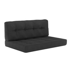 Vicco Palettenkissen Palettenkissen-Set Sitzkissen Rückenkissen 15 cm hoch Palettenmöbel
