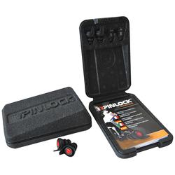 IXS Pinlock Gehörschutz, schwarz-rot