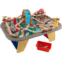 KidKraft® Spieltisch Wasserfall Eisenbahntisch & Spielset bunt