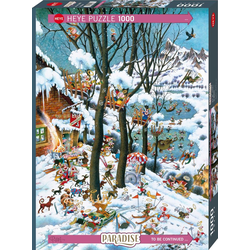 In Winter Puzzle 1000 Teile