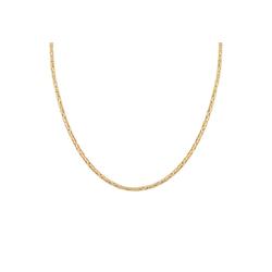 CAÏ Königskette Königskette 925 Silber vergoldet diamantiert, Collier