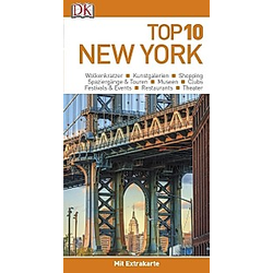 Top 10 Reiseführer New York  m. 1 Beilage - Buch