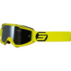 Shot Iris Symbol Motocross Brille, gelb