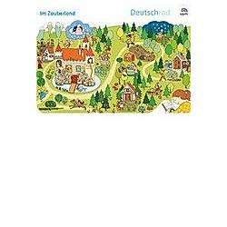 Deutschrad. Ausgabe ab 2018: 3./4. Klasse, Im Zauberwald, Wimmelbilder-Poster