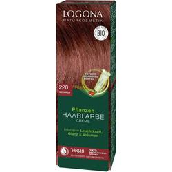 LOGONA Haarfarbe Logona Pflanzen-Haarfarbe Creme rot