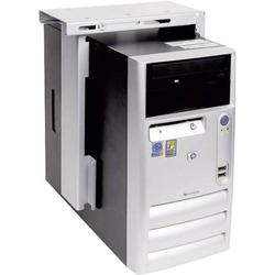 Dataflex PC Halterung Untertisch Top Grip 312 32.312 Silber Belastbar bis=20kg