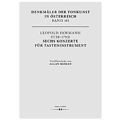 Leopold Hofmann (1738-1793). Six Keyboard Concerti - Buch