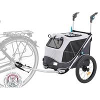 TRIXIE Fahrrad-Anhänger, faltbar, S: 58 93 74/114 cm