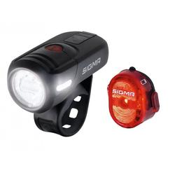 SIGMA SPORT Fahrradbeleuchtung Sigma Beleuchtungsset Aura 45 USB / Nugget II