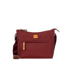 Bric's Umhängetasche X-Bag Schultertasche 25 cm rot