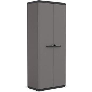 KETER Piu Kunststoffschrank, Grau, 68x39x166 cm