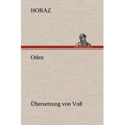 Oden (Übersetzung von Voß) als Buch von Horaz