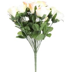 Kunstblume Rosenstrauß mit Schleierkraut Rose, Botanic-Haus, Höhe 35 cm