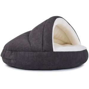PadsForAll Hundehöhle außen schick, innen bequem, mit Dachstabilisierung, attraktive Farben, Katzenhöhle