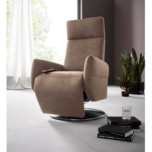 Places of Style Relaxsessel Kobra, in Größe M, wahlweise mit Motor und Aufstehhilfe braun