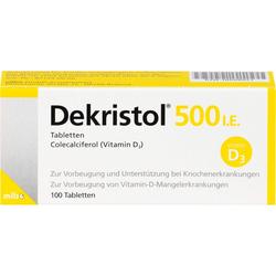 DEKRISTOL 500 I.E. Tabletten 100 St.