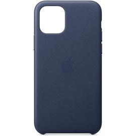 Apple iPhone 11 Pro Leder Case mitternachtsblau