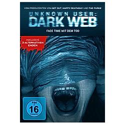 Unknown User: Dark Web - DVD  Filme