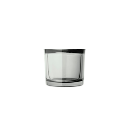 blomus Glas-Windlicht Mimo in smoke, 8 cm