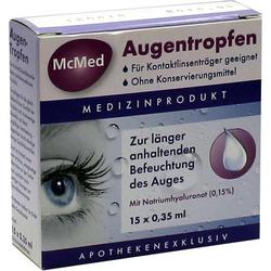 MCMED Augentropfen Einzeldosispipetten 5 ml